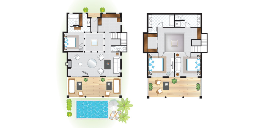 3-Bedroom-Beach-Villa-Floorplan