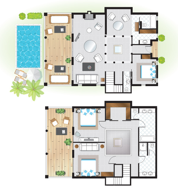 three-bedroom-beach-villa-floorplan