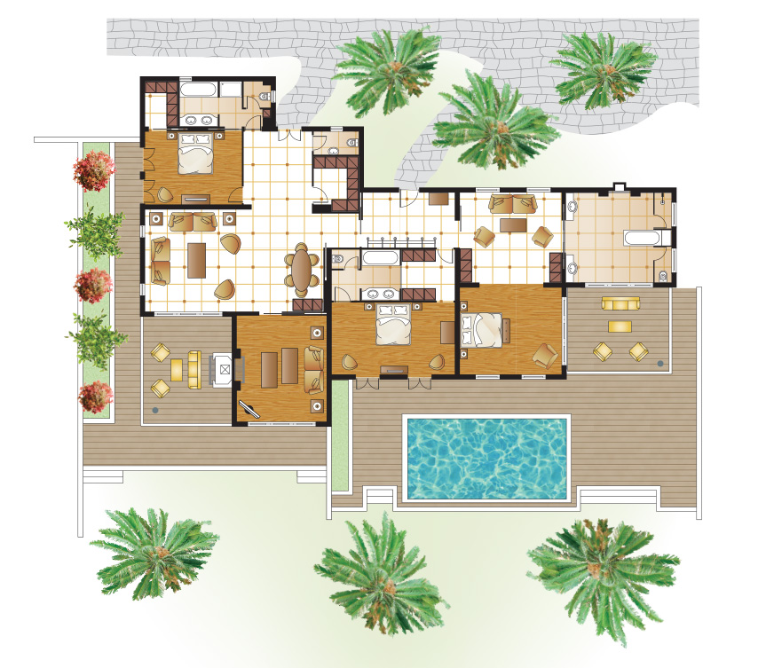 royal-pavilion-on-the-beach-private-pool-floorplan