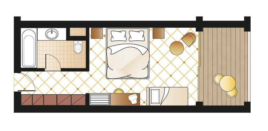 olympia-oasis-double-room-sea-view-floorplan