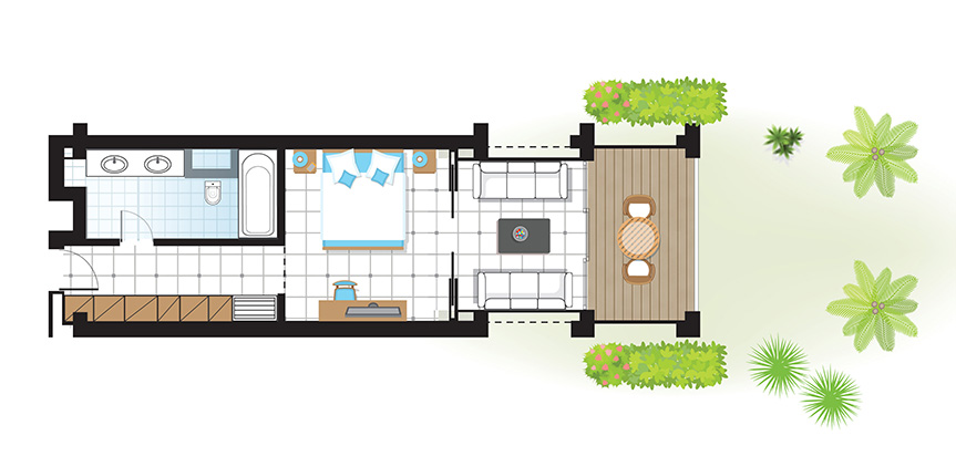 olympia-riviera-junior-suite-covered-veranda-garden-floorplan