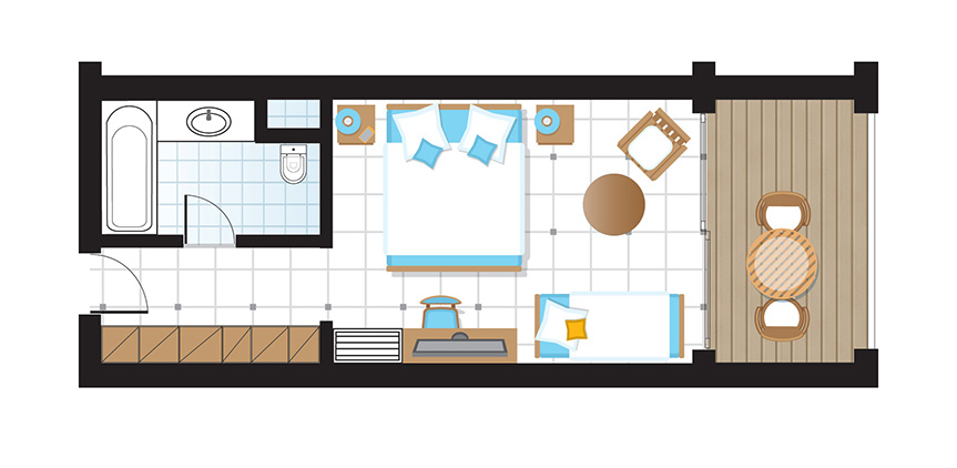 olympia-riviera-superior-sea-view-guestroom-floorplan